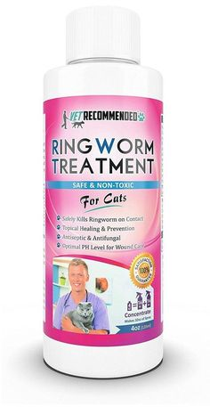 Vet Recommended - Ringworm Treatment For Cats - Concentrate Makes Two 16oz... #VetRecommended