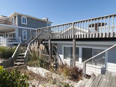 Oceanfront cottage with rooftop deck and private beach access - Kure Beach Kure Beach, Carolina Beach, Rooftop Deck, House Rentals, Good Times, Beach House, Bedrooms, Cottage, Park