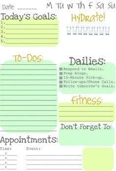Clean  Scentsible: Making To Do Lists Fun
