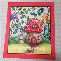 I Spy YNS Saturday  Fairy Tale House    Your Next Stamp