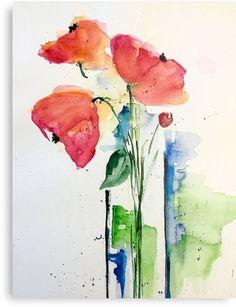 """Kaufe """"Blumen in der Vase"""" von Britta75 auf folgenden Produkten: Grafik T-Shirt, Chiffontop für Frauen, Kontrast Top, T-Shirt Kleid, A-Linien Kleid, Sticker, iPhone-Hülle/Skin, iPhone Flip-Case, Hülle & Skin für Samsung Galaxy, Poster, Kis..."""