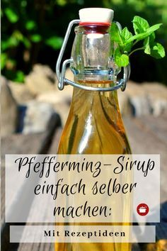 Pfefferminzsirup selbst herstellen Peppermint syrup – with recipe ideas Healthy Food List, Healthy Eating Tips, Healthy Nutrition, Smoothie Recipes, Smoothies, Fiber Cereal, Homemade Biscuits, Vegetable Drinks, Food Items
