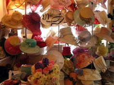 English Elegance...Ladies hats selection at Hectic Hat Hire