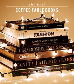 Coffee Table Books Fashion coffee table book gift ideas