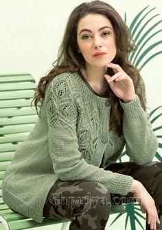 Ravelry: Designs by Sabrina/Sandra team designers Knit Jacket, Knit Cardigan, Cardigan Design, Knitted Coat, Crochet Abbreviations, Knit Patterns, Crochet Clothes, Baby Knitting, Knitwear