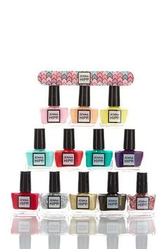 Jenna Hipp What's Hot Now Nail Collection Spring by HATCHBEAUTY on @HauteLook http://www.hautelook.com/short/3QmDr