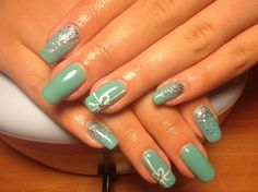 Inspired by Tiffany by ambivalent5 - Nail Art Gallery nailartgallery.nailsmag.com by Nails Magazine www.nailsmag.com #nailart