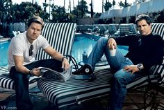 Mark Wahlberg & Steven Levinson