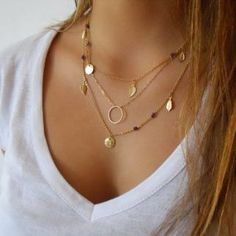 simple but layered..gold or silver