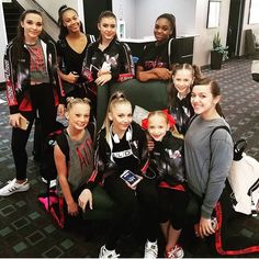 The girls are ready for competition today!