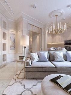 elegant small living room decor ideas for you to get inspired 27 Elegant Living Room, Living Room Grey, Living Room Modern, Living Room Designs, Small Living, Living Rooms, Classic Living Room, Apartment Living, Ok Design