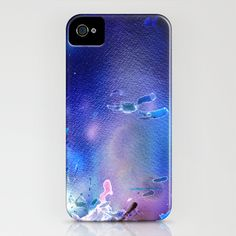 Side Effect 3, or Go with the Flow! iPhone Case by Vargamari - $35.00 - airbrush watercolor, digitally modified