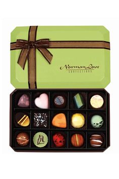 Artistry in gourmet chocolate delicacies for fine chocolate lovers, corporate gifts, wedding flavors, clubs. Try our new healthy dark chocolate BLACK™. Chocolate Gift Boxes, Chocolate Truffles, Chocolate Lovers, Healthy Dark Chocolate, White Chocolate, Wedding Flavors, Norman Love, Corporate Gifts, Candy