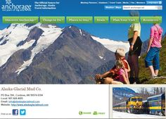 Alaska Glacial Mud is featured on Anchorage, Alaska Travel Guide http ...