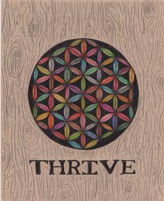 Inspired by the documentary #Thrive #Floweroflife #Lawofnature #Mandala www.thrivemovement.com