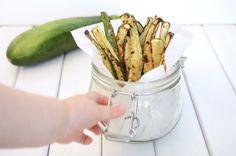 Cheddar Zucchini Fries - Baby Food Recipe