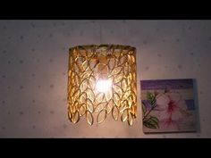 Hello everybody, Great to see you again. In this video will show you how to make a hanging lamp that makes from Reused paper. Wish you love an idea and thank. Toilet Paper Roll Diy, Toilet Paper Roll Crafts, Diy Crafts Hacks, Diy Home Crafts, Diy Pared, Carton Diy, Rolled Paper Art, Bottle Cap Crafts, Diy Chandelier