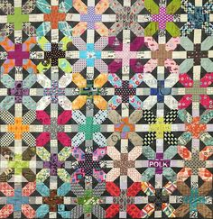 X And Plus Quilt Pattern Designed by Zen Chic image 0 Patchwork Quilt Patterns, Modern Quilt Patterns, Scrappy Quilts, Easy Quilts, Quilting Patterns, Sewing Patterns, Farm Quilt Patterns, Block Patterns, Amish Quilts