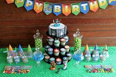 Skylander Birthday Party with FREE printables