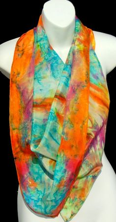 Morning Sky Square SILK SCARF, Kassi colors showing off African heritage Elegant Sophisticated, Silk Art, Hand Painted, Painted Silk, How To Dye Fabric, Square Scarf, Shawls And Wraps, Fabric Painting, Silk Scarves