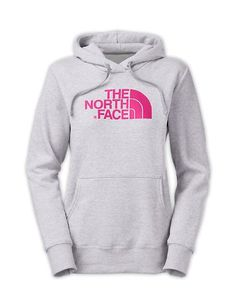 The North Face Women's Half Dome Hoodie Heather Grey / Passion Pink L The North Face,http://www.amazon.com/dp/B0097WXAFE/ref=cm_sw_r_pi_dp_tiLesb0J0YVRBH4A