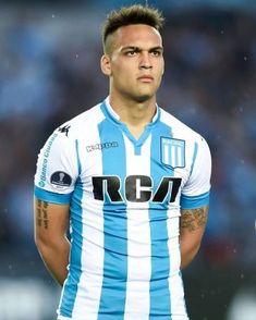 Lautaro Martinez Messi, Ronaldo, Polo Shirt, Soccer, Racing, Club, Academia, Costa, Mens Tops