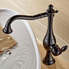 Vessel Single Handle One Hole in Oil-rubbed Bronze Bathroom Sink Faucet 4880274 2016 – $70.19