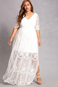 Maxi : Plus Size Dresses for Women : Target Plus Size Elopement Dress, Wedding Dresses Plus Size, Plus Size Maxi Dresses, Plus Size Wedding, Unique Dresses, Bridal Dresses, Casual Dresses, Dresses With Sleeves, Short Sleeves