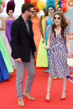 "Cannes Film Festival 2016: Justin Timberlake & Anna Kendrick attend the ""Trolls"" photocall."