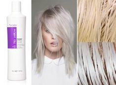 Best Silver Shampoo For White Hair - Weißes Haar Blonde Hair Purple Shampoo, Purple Shampoo For Blondes, No Yellow Shampoo, Shampoo For Gray Hair, Blonde Hair Care, White Blonde Hair, Blonde Hair Looks, Platinum Blonde Hair, White Hair Toner