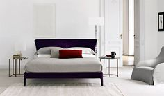 This is my favourite Maxalto collection but may be too $$$> We could custom this type pf bed head though.