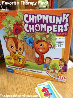 Chipmunk Chompers: Favorite Therapy Find from Speech Room News.