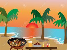 Backyard Party Stock Photos And Images Summer Barbeque, Barbecue, Bbq Ideas, Backyard Bbq, What's Cooking, What To Cook, Royalty Free Images, Beats, Florida