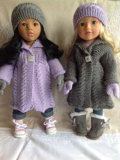 Dolls Fashion Clothes Knitting pattern. 18 von KnittingNannyMo