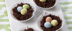 These chocolate nests are a perfect way to enjoy Easter, and kids will love making and eating them.