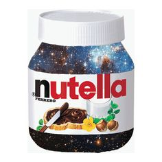 Galaxy Nutella ARE YOU FRICKIN' KIDDING ME like my 2 most favorite things in the world
