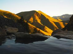 Goldbug Hot Springs near Salmon, Idaho