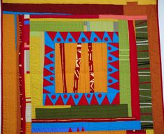 Gwen Marston :: Abstract Quilts in Solids — Kristin Shields