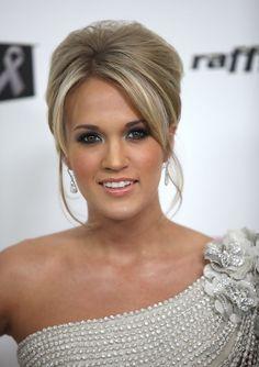 Carrie Underwood Pompadour - Carrie Underwood Updos - StyleBistro