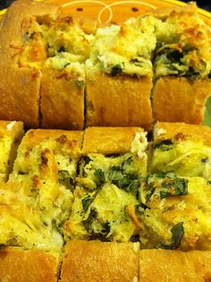 Lemon and Basil Eggs over Foccacia...Giada recipe and a huge hit at brunches!