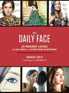 Makeup artist Annamarie Tendler's Daily Face feature on her hugely popular Tumblr blog has inspired hundreds of thousands of followers. Now in her first book, she takes readers around the clock with 25 easy-to-achieve looks for everything from an afternoon first date to a retro-glam cocktail party or a sultry smoky-eyed late night. She even throws in some head-turning costume ideas. It's all about personal expression. Step-by-step photos make it easy for anyone (even the makeup challenged)…
