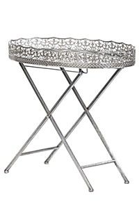 Engraved pewter tray and glass base with cross leg detail. This side table is a feminine and decorative addition to a lounge setting. Decor, Furniture, Home Furniture, Home Decor Online, Butler Tray, Pewter, Decor Shopping Online, Glass, Mr Price Home