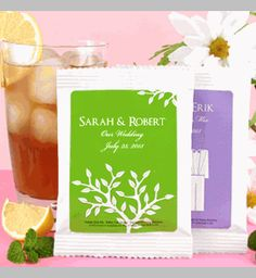 Silhouette Collection Personalized Iced Tea Mix