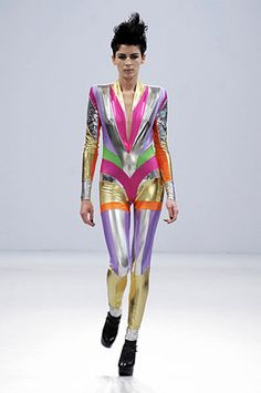 would be interesting to make a condensed version of this catsuit -obvs caint do a pam hogg but can layer up or wear on its own -make without so many sections