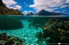 A Unique Swimming Experience in To Sua Ocean Trench, Samoa