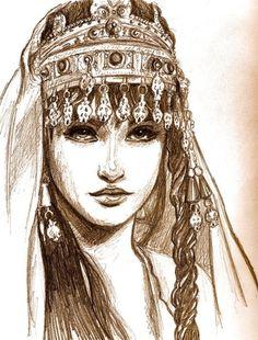 Savina Persian art