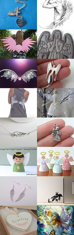 Angels! by TheDaintyBoutique on Etsy--Pinned with TreasuryPin.com