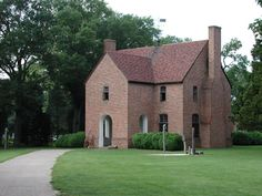 ST. MARY'S CITY, MD: State House of 1676, Historic St. Mary's City