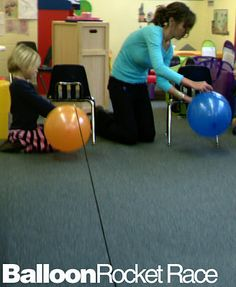 Possible idea for imagination station- string, straws, balloons.