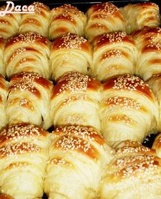 A lovely, delicious recipe of the authenti… Sugar Free Recipes, Almond Recipes, Sweet Recipes, Bosnian Recipes, Croatian Recipes, Gourmet Recipes, Baking Recipes, Kiflice Recipe, Tasty Pastry